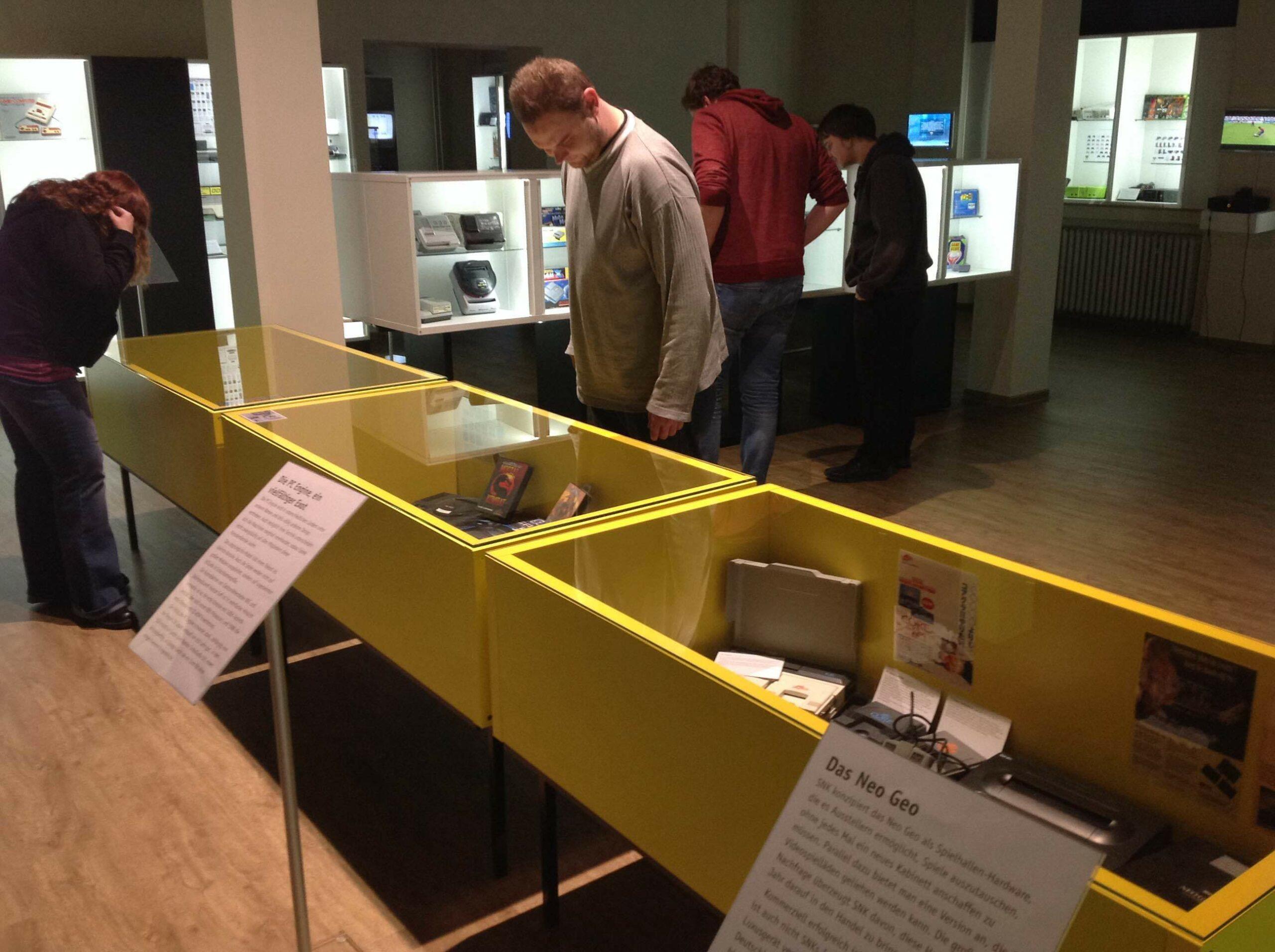 Blick in die Ausstellung des Museums der digitalen Kultur
