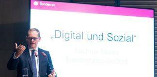 Digitalisierung muss sozial sein: Diskussion in einer Zeitenwende.