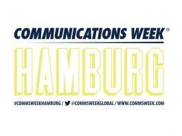 Katja Suding und Lars Haider bei der Communications Week® Hamburg